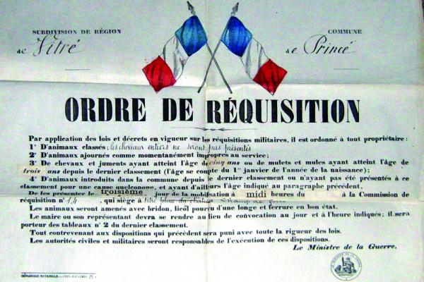 (Archives communales de Princé-cliché C.Sachet )
